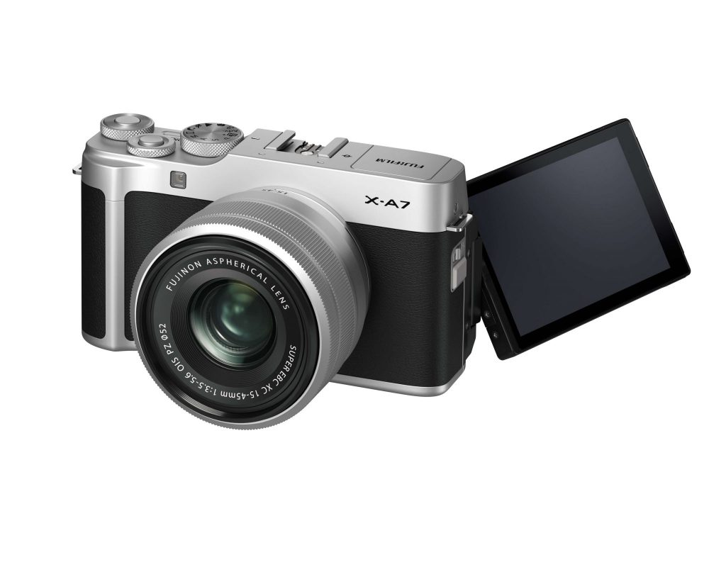 Fujifilm X-A7 product shot 7