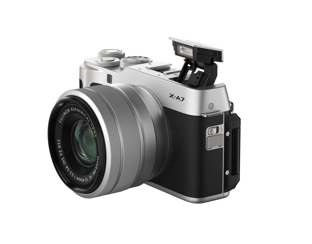 Fujifilm X-A7 product shot 2