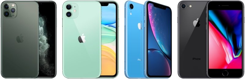 Apple iPhone 11 linup
