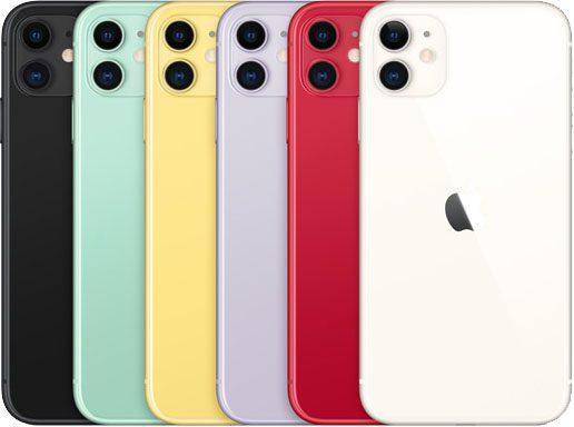 Apple iPhone colourways