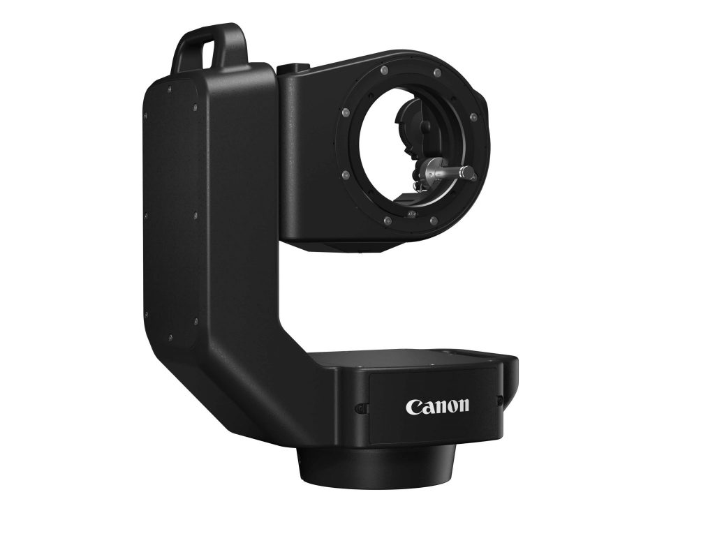 Canon tilt pan remote without camera