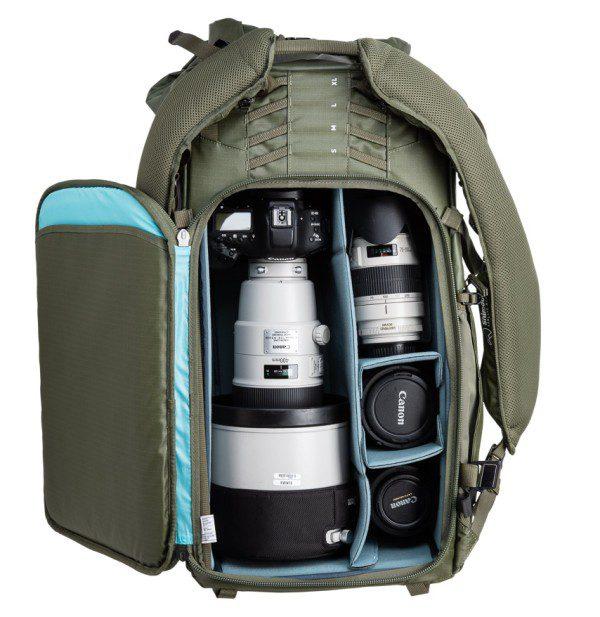 Shimoda Action X70 Backpack open
