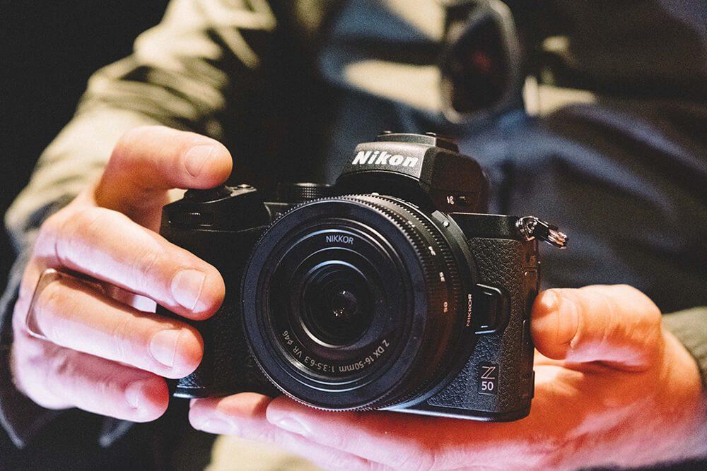 Nikon Z50 front