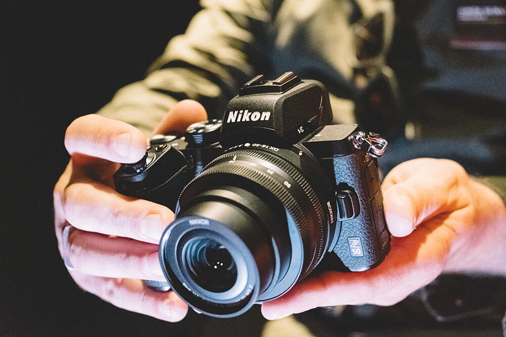 Nikon Z50 front tilt
