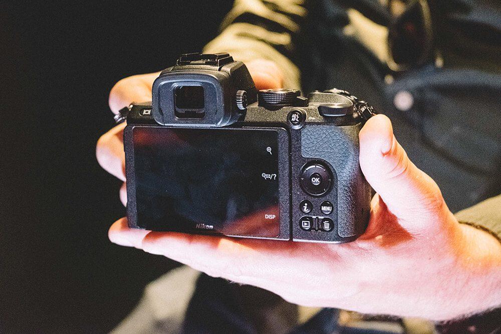 Nikon Z50 rear