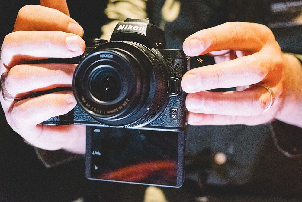 Nikon Z50 screen