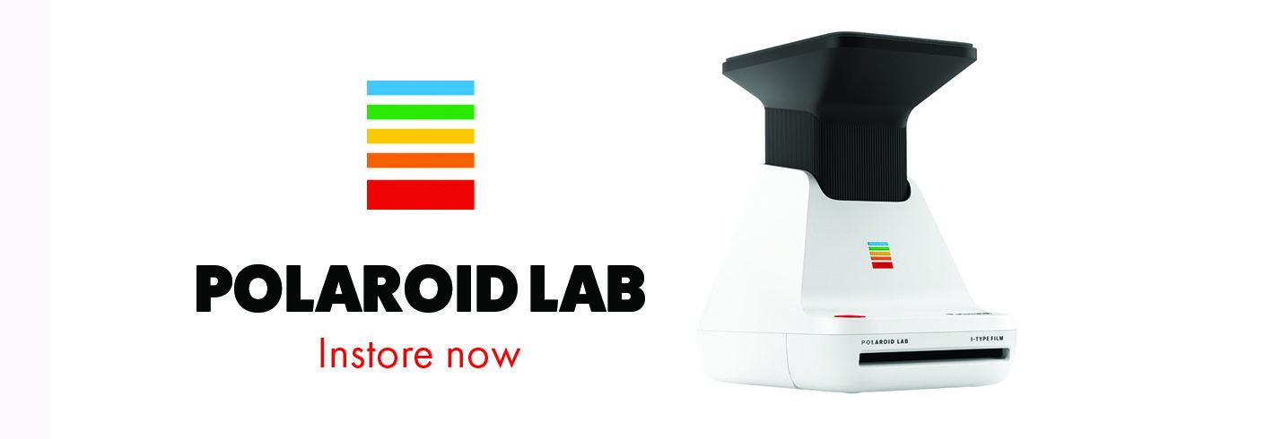 Polaroid Lab Banner