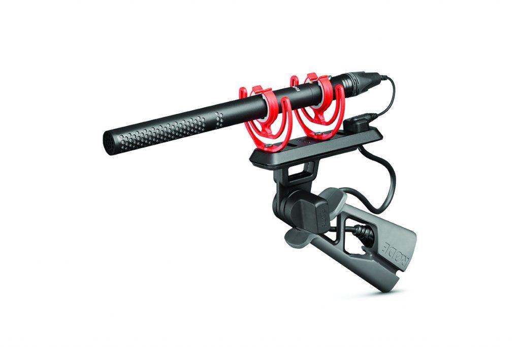 RODE NTG5 Shotgun Mic side