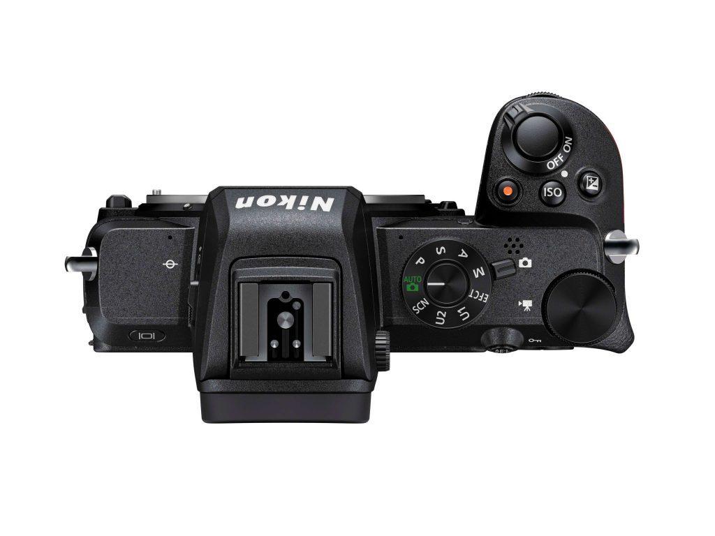 Nikon Z50 clean top view