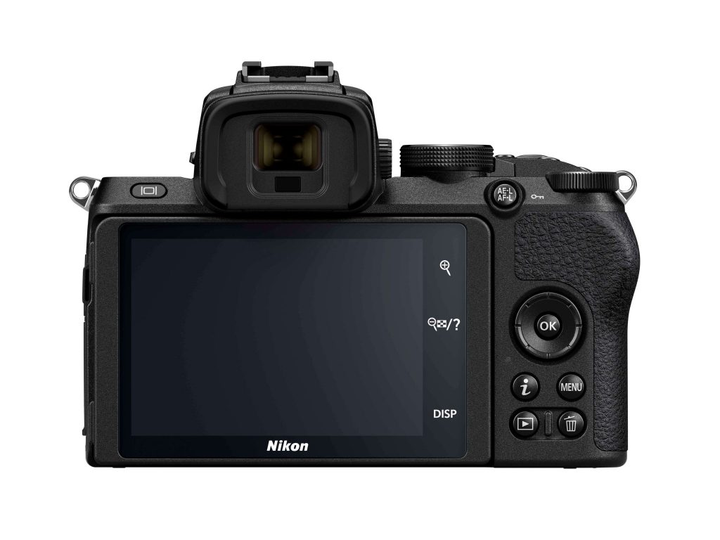 Nikon Z50 rear 2