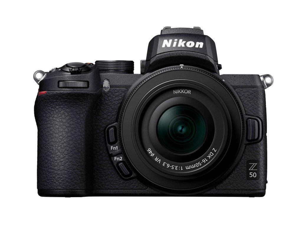 Nikon Z50 front clean