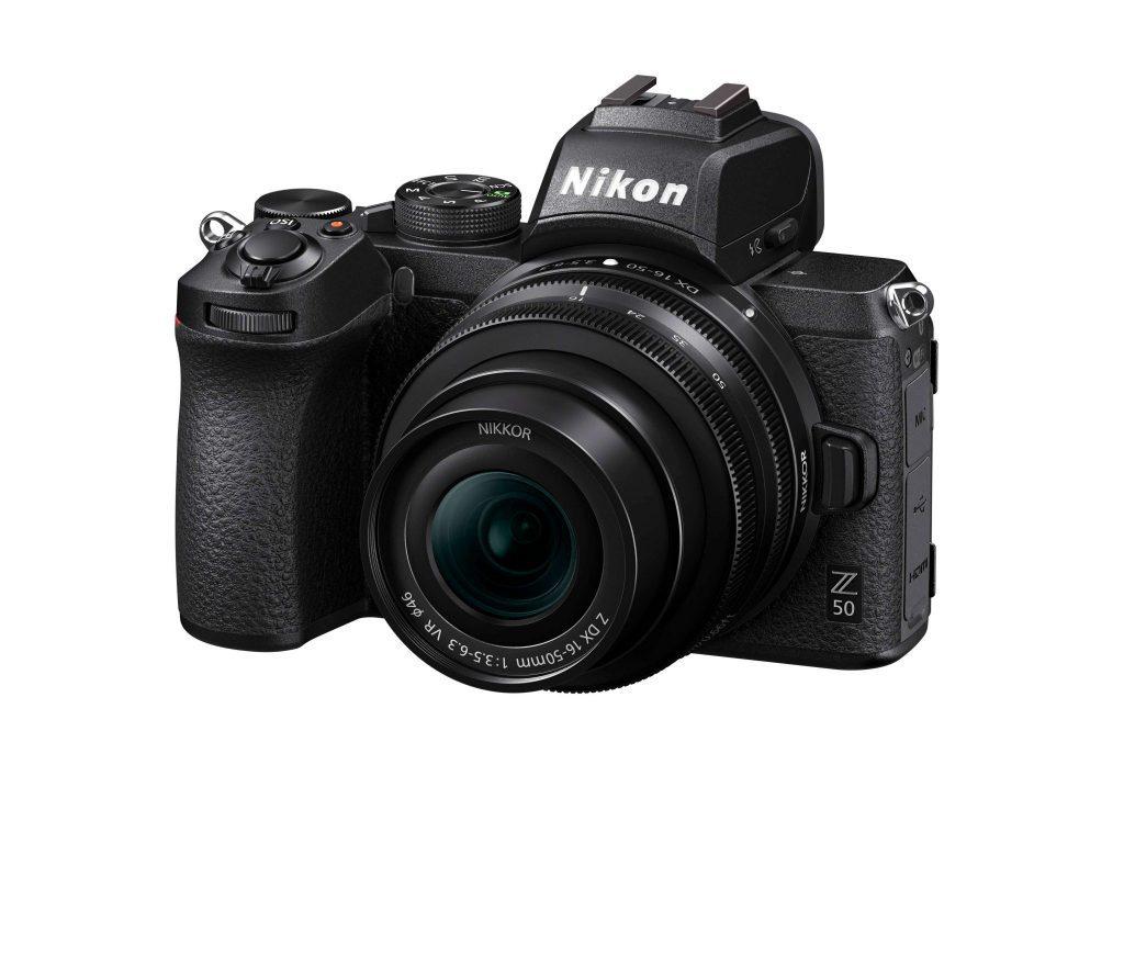 Nikon Z50 front angle