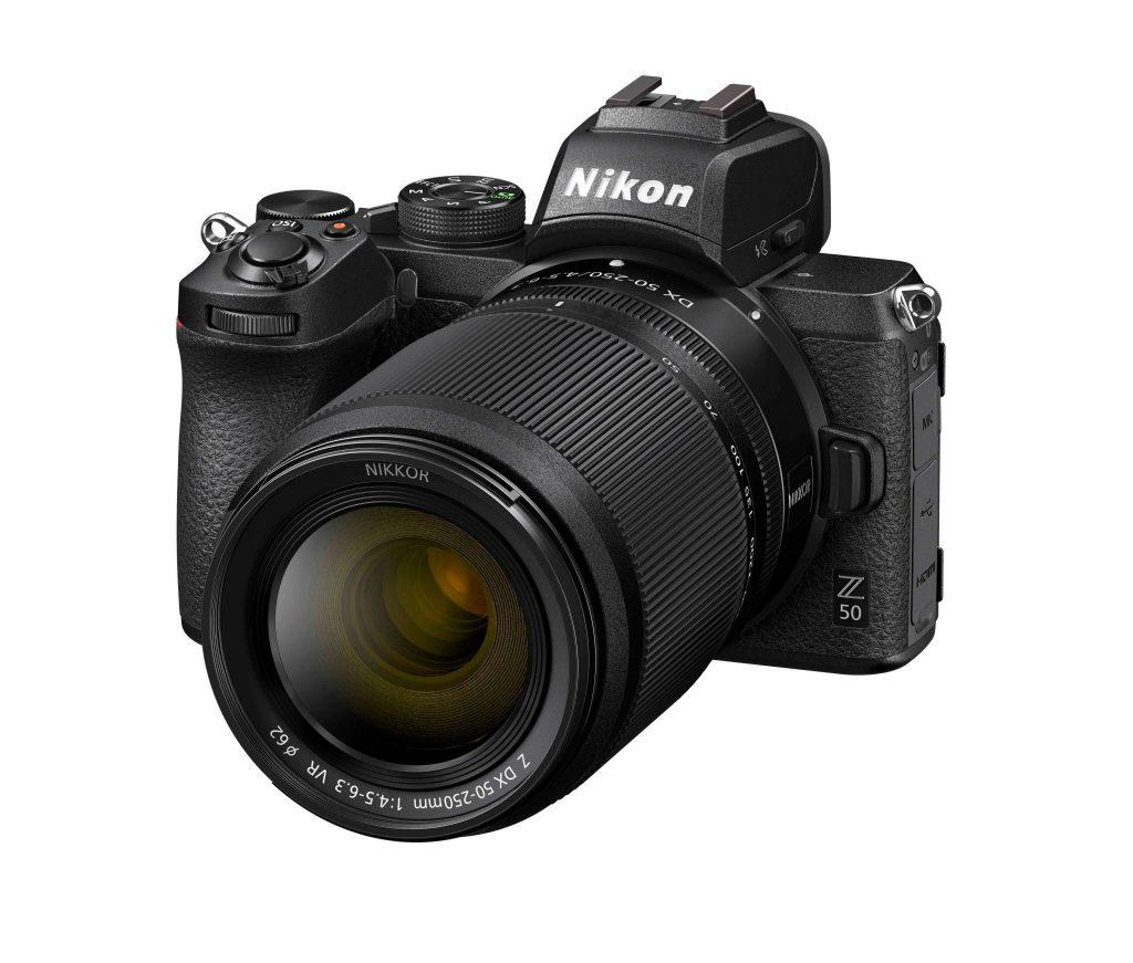 Nikon Z50 front angle 2