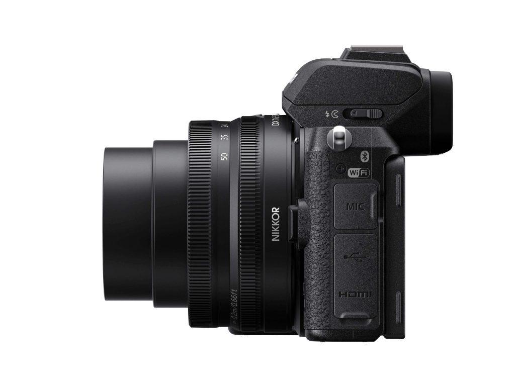 Nikon Z50 side LH