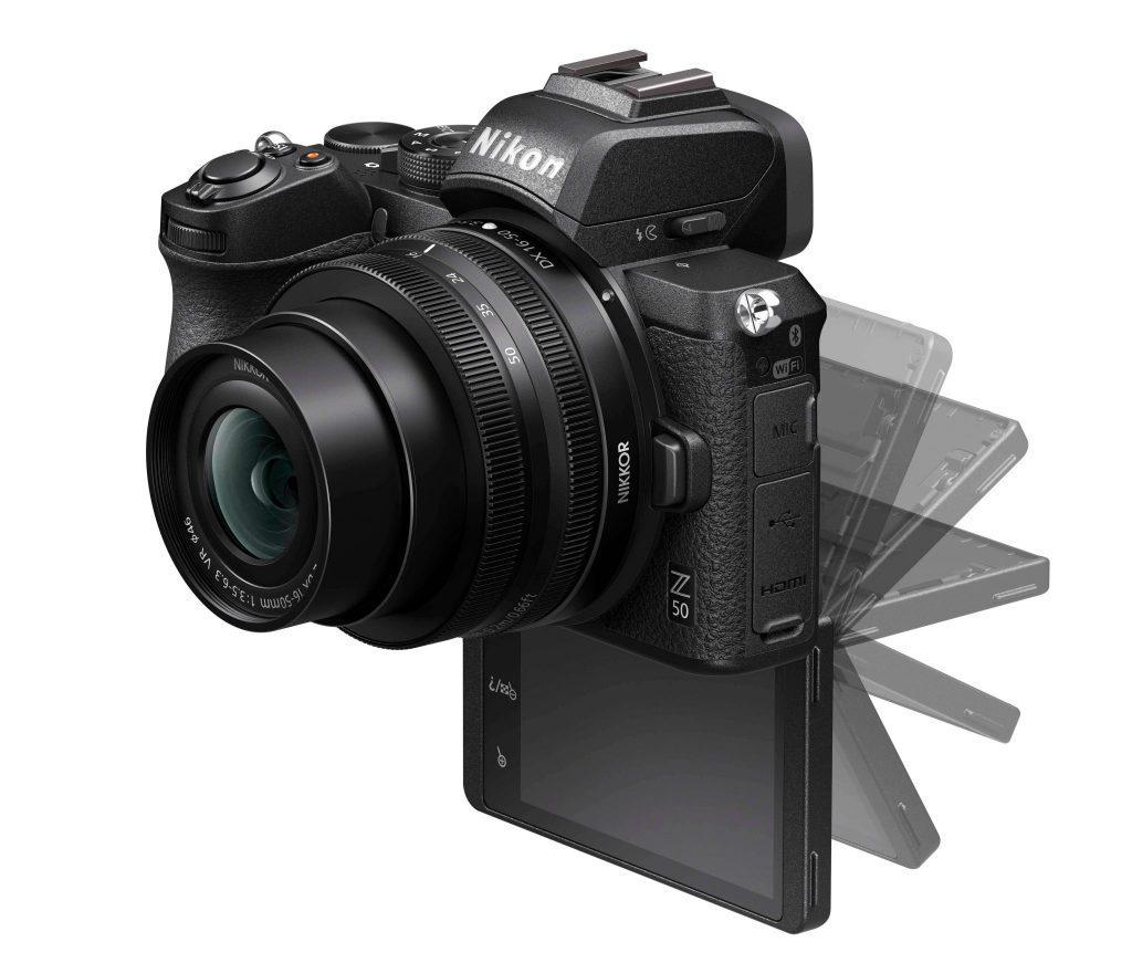 Nikon Z50 monitor dropped