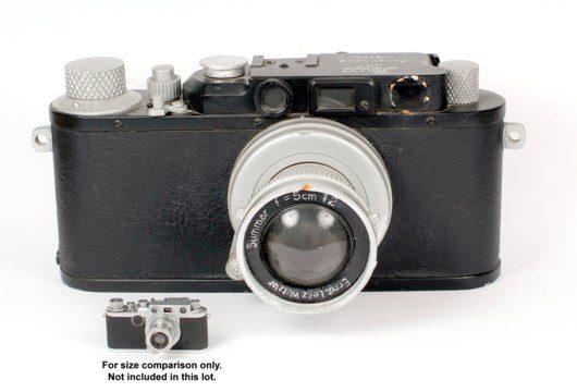 Big Leica II  scale