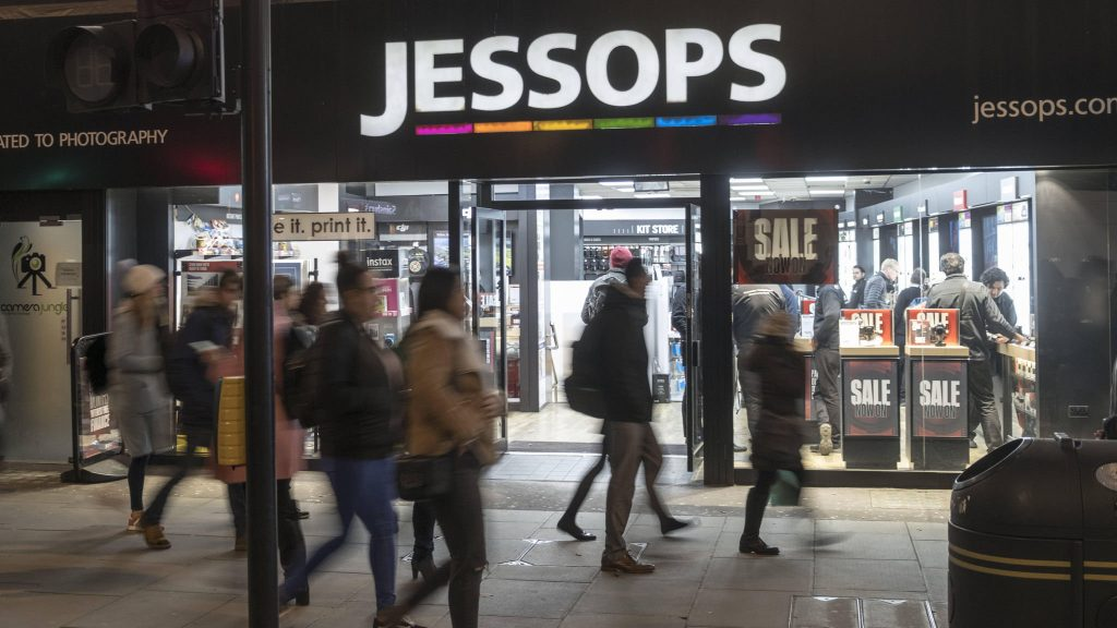 Jessops for sale?