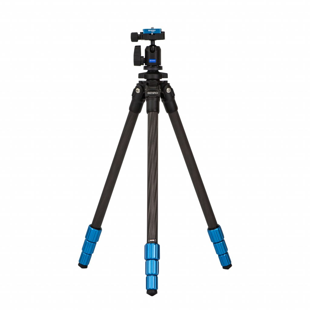 Benro Slim Tall tripod in carbon fibre