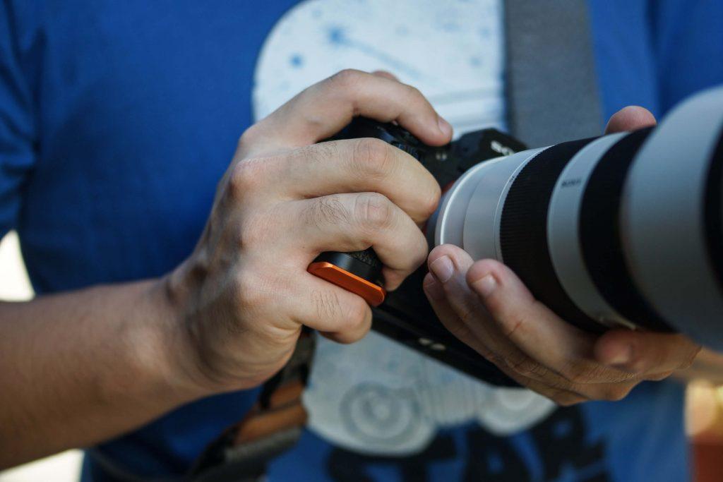 STC Fogrip for Sony full frame mirrorless camera