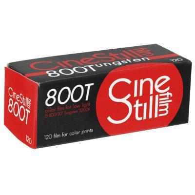 CineStill 800T 120 box