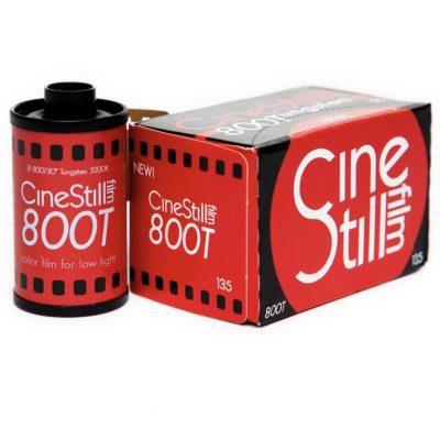 CineStill 800T box