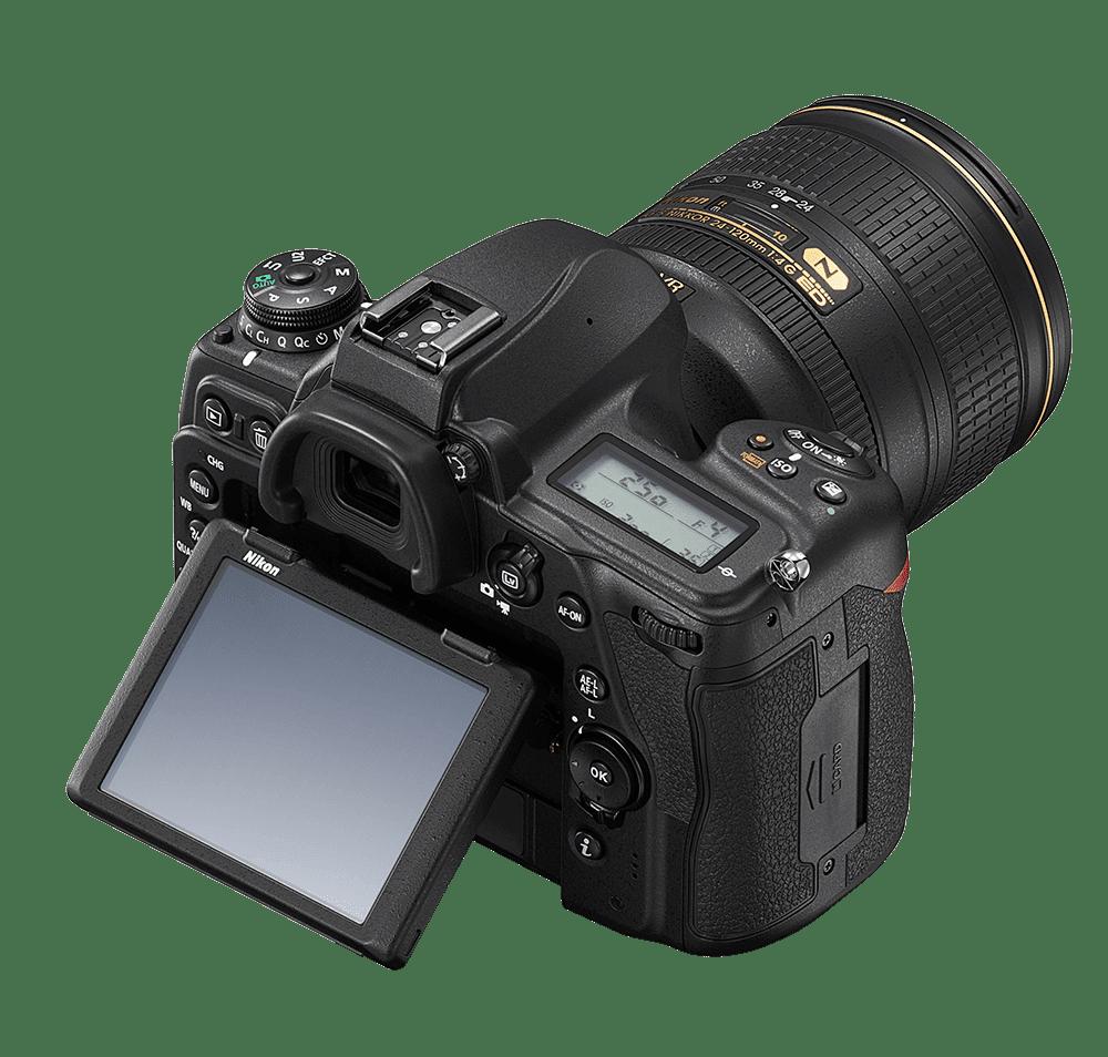 Nikon D780 top rear right