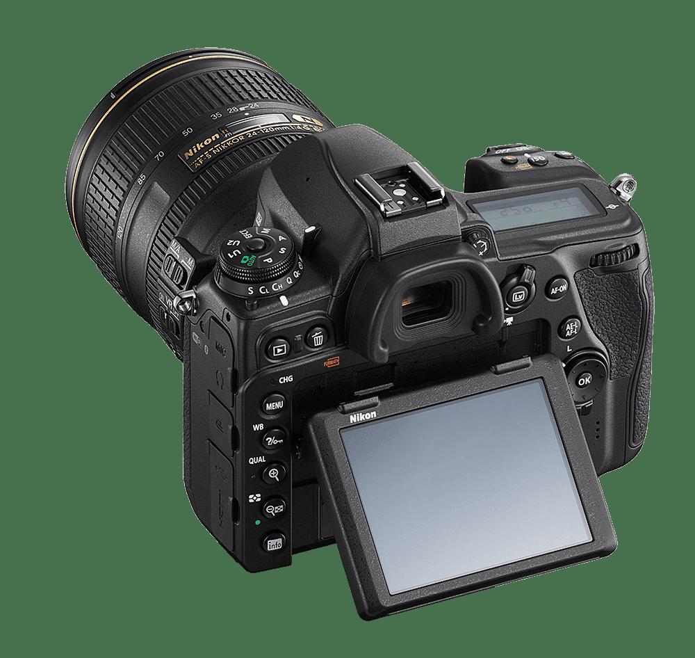 Nikon D780 top reaar left
