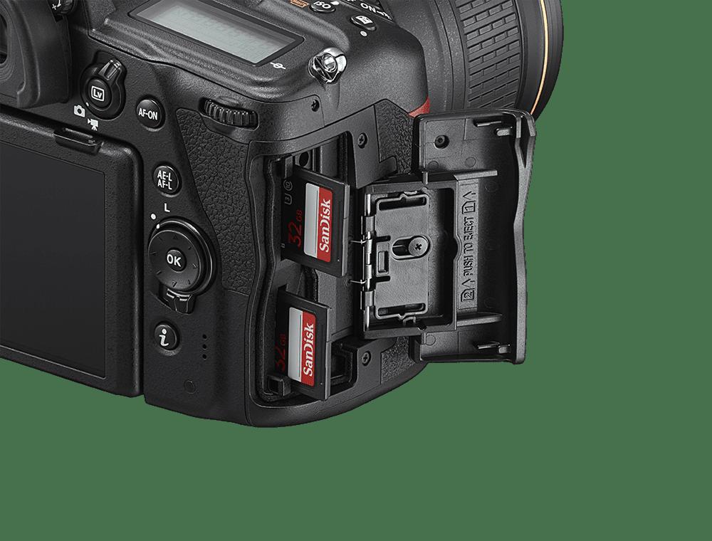 Nikon D780 card slot