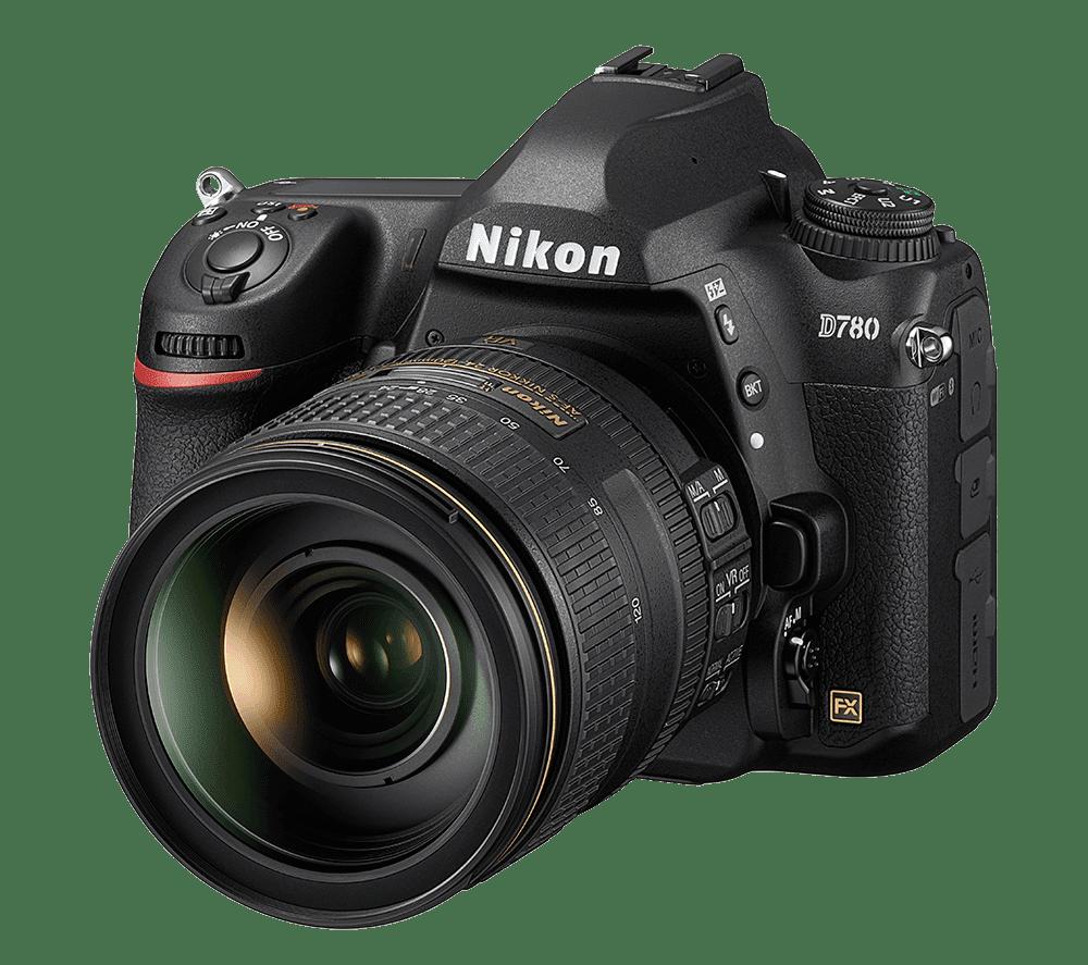 Nikon D780 front slant left