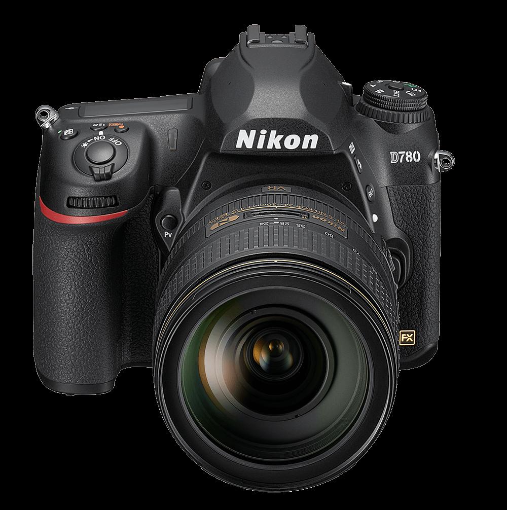 Nikon D780 front overhead