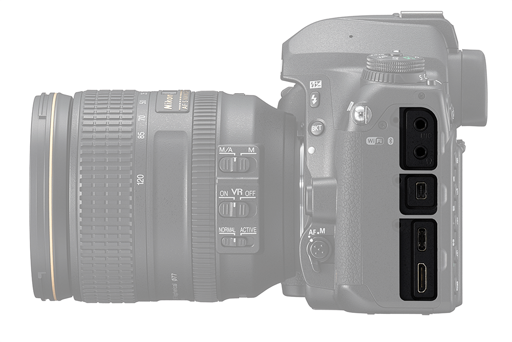 Nikon D780 port highlight