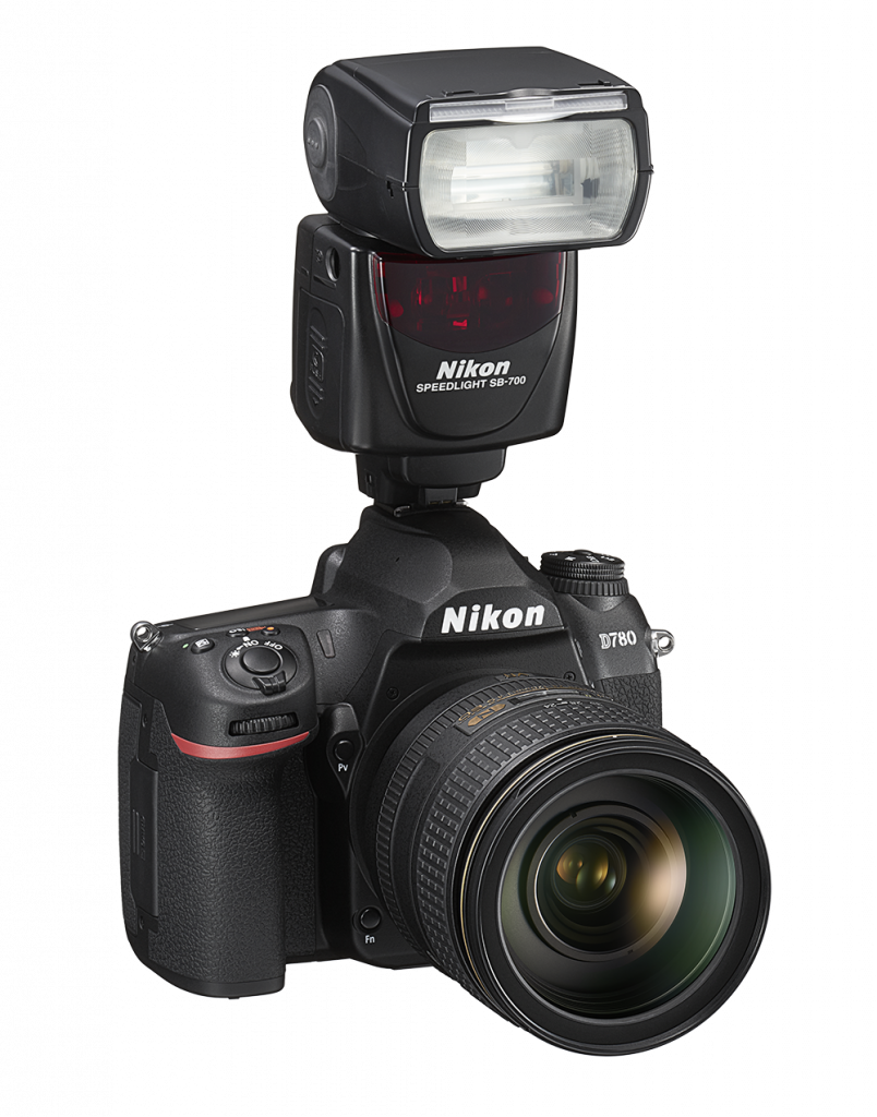Nikon D780 right speedlight