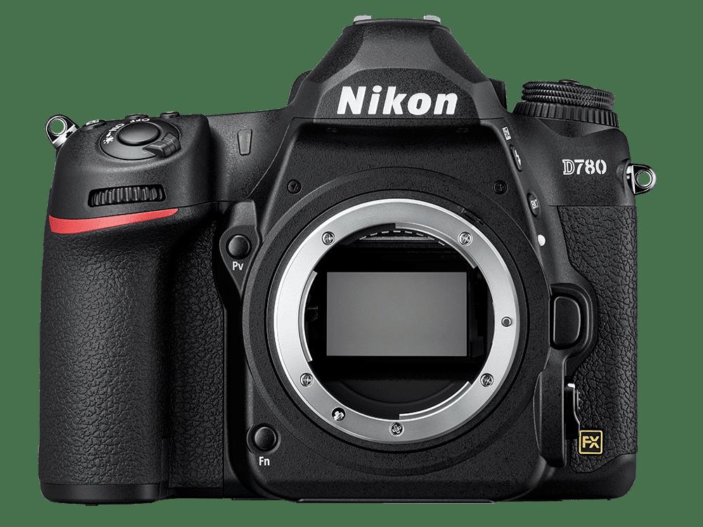 Nikon D780 front