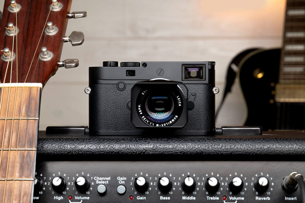 Leica M10 Monochrom front