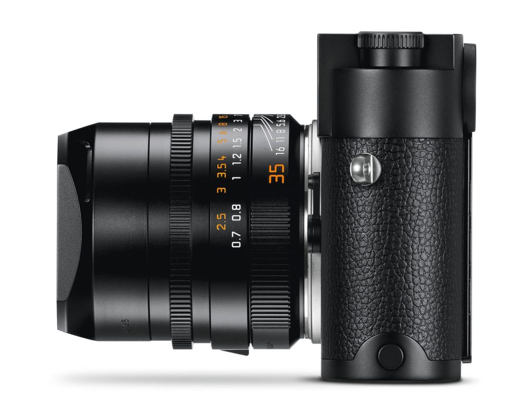 the new Leica M10 Monochrom left side