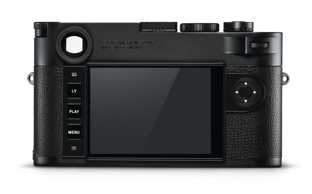 the new Leica M10 Monochrom back