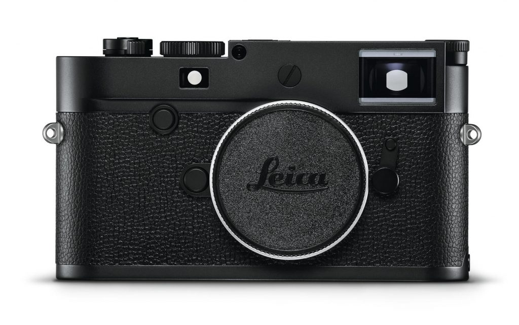 the new Leica M10 Monochrom front square