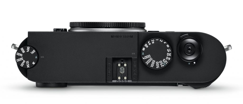 the new Leica M10 Monochrom top