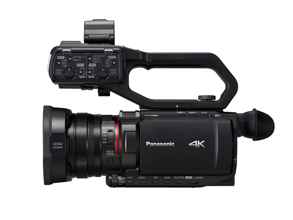 Panasonic CX10 X2000_side