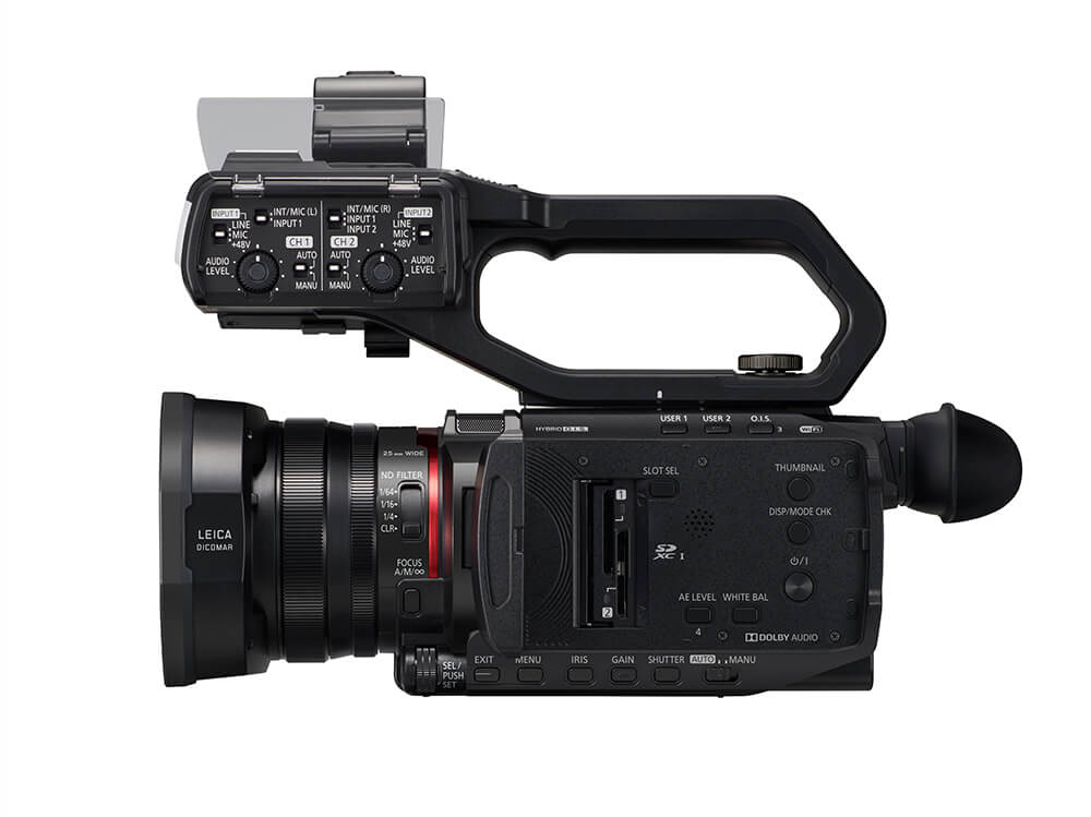 Panasonic CX10 X2000_sidex