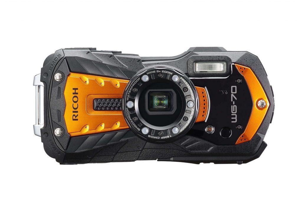 RICOH WG-70 orange front