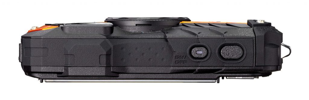 RICOH WG-70 orange bottom