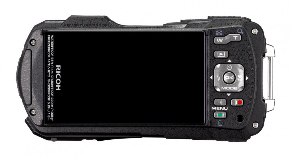 RICOH WG-70 black rear