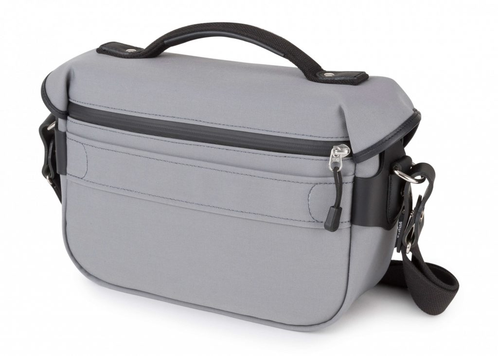 Billingham Hadley Small Pro Grey Canvas back