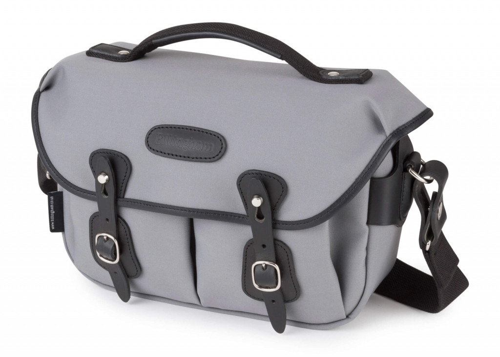 Billingham Hadley Small Pro Grey Canvas front