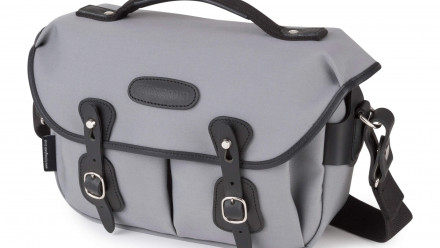 Read Billingham Hadley Small Pro in Grey Canvas/Black Leather Joins The Range