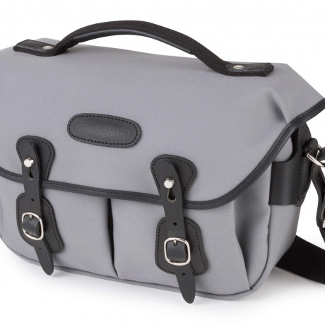 PhotoBite - Billingham Hadley Small Pro in Grey Canvas/Black Leather Joins The Range