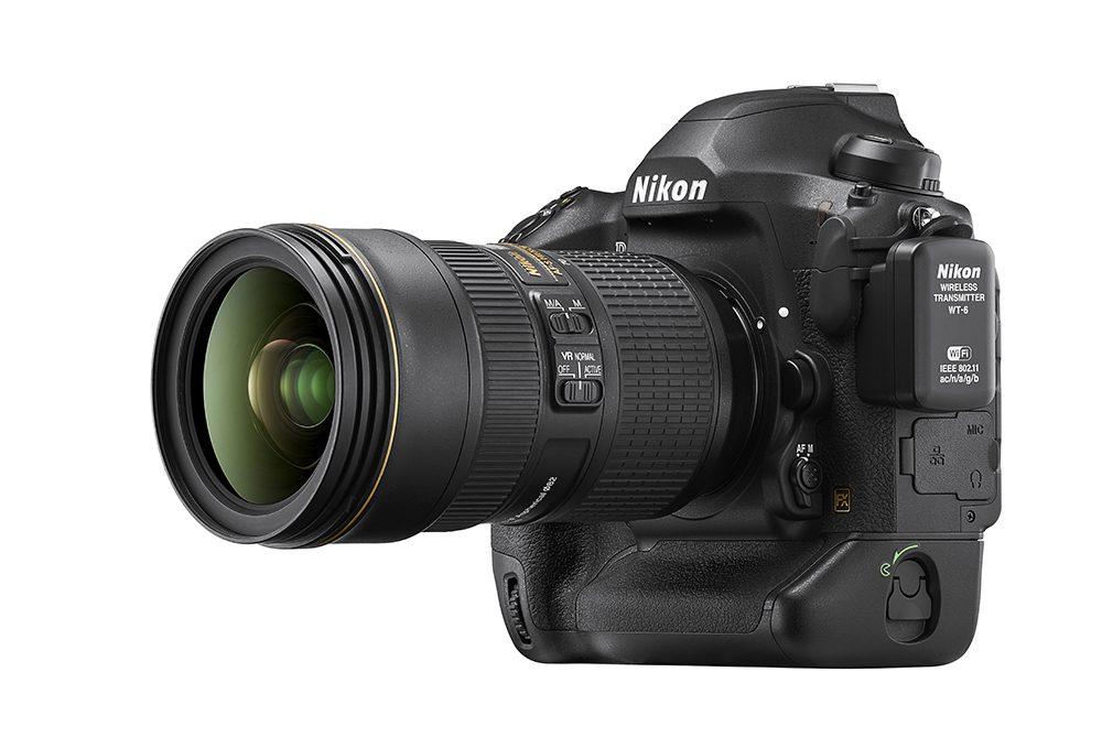 Nikon D6 front side lens