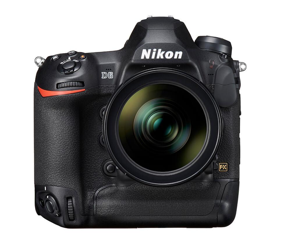 Nikon D6 front lens
