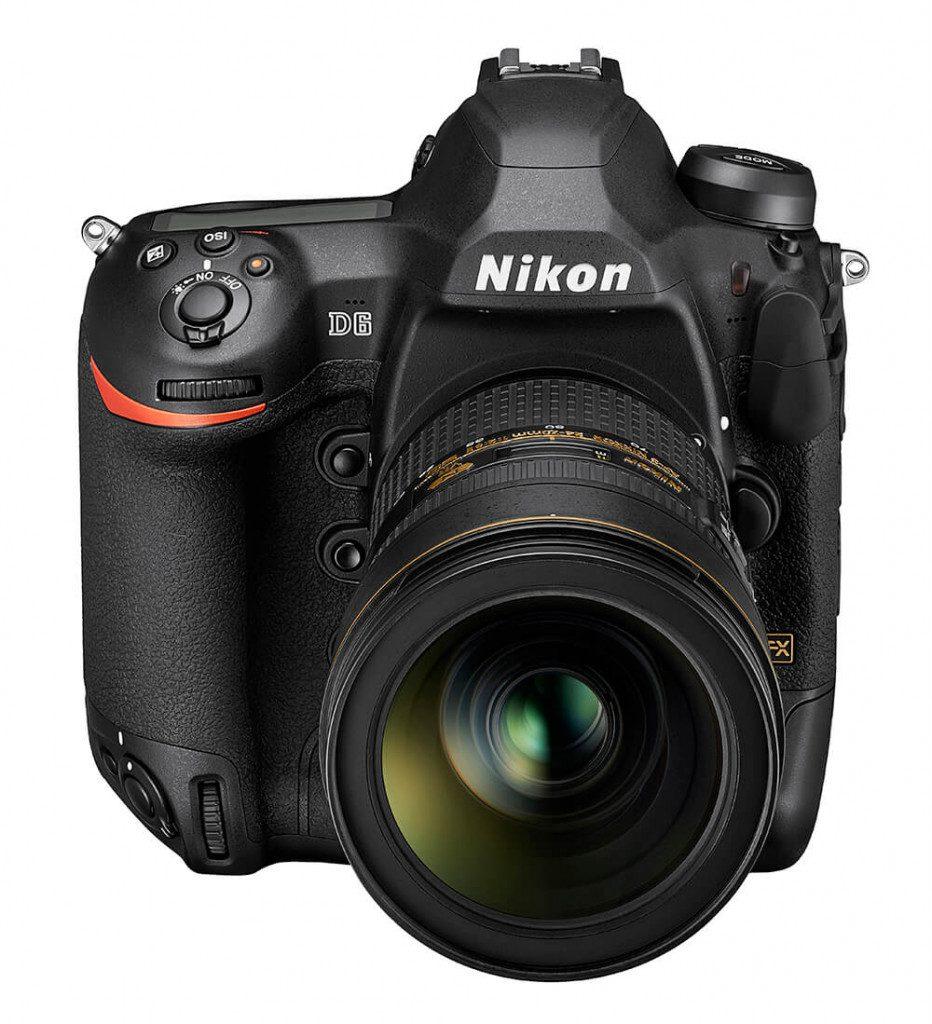 Nikon D6 front top